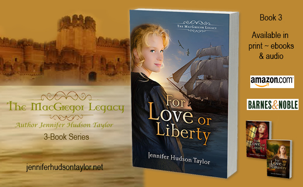 For Love or Liberty, Book 3